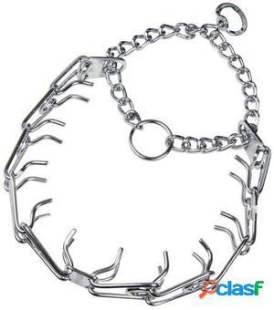 Chadog Collar Adiestramiento Acero Cromado para perros 58 cm