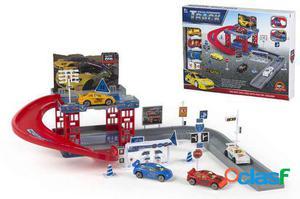Colorbaby Parking con coches y accesorios caja 37x28 475 gr