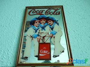 Cuadro espejo Coca Cola