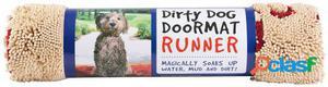 Dog Gone Smart Dirty Dog Doormat Runner 152x76 cm Marrón