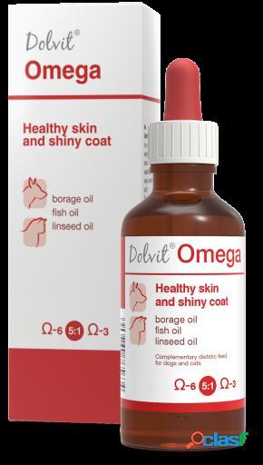 Dolfos Complemento para Gatos Dolvit Omega 50 ml 46 gr