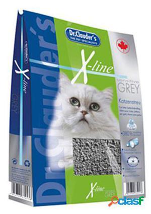 Dr. Clauder's X-Line Grey Lecho para gatos 12 KG