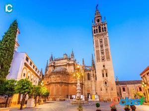 Edificios en el centro de Sevilla