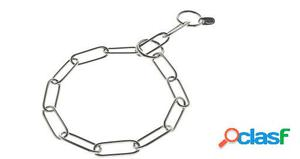 Ferribiella Collar Ahogo Eslabón Inoxidable 0.3x54 cm