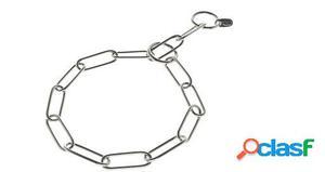 Ferribiella Collar Ahogo Eslabón Inoxidable 0.3x67 cm
