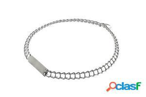 Ferribiella Collar Cromado de Eslabones 1.3x40 cm