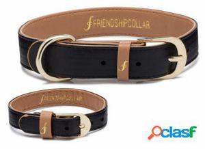 FriendshipCollar Collar Classic Pup - Jet XXL