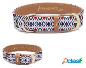 FriendshipCollar Collar Spanish Ikat - RG xS