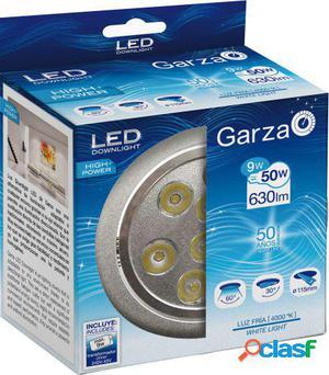 Garza Led Empotrable Hp 9W 60 630Lm 40K Aluminio