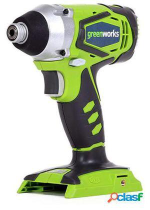 Greenworks Atornillador de impacto a batería