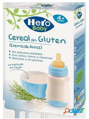 Hero Baby Papilla Crema Arroz Sin Gluten +4 Meses 300 gr
