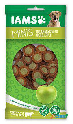 IAMS Snack de ternera y manzana Minis 100 gr. 100 GR