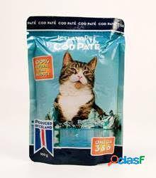 Iceland Pet Comida Humeda para Gatos Cat Cod Paté 100 GR