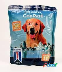 Iceland Pet Comida Humeda para PerrosDog Cod Paté 300 GR