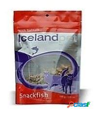 Iceland Pet Galletas para Gato Cat Treat Salmon Flavour 100