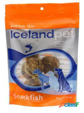 Iceland Pet Snacks Naturales Perros Red Fish Skin 50 GR