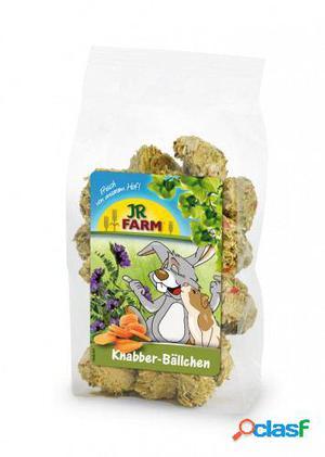Jr Farm Jr Snacks Roedores Bolas De Zanahoria Y Alfalfa 150