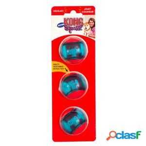 KONG Pelota Squeezz Action Red S