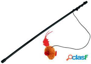 Kerbl Caña de Pescar Juguete con Raton Y Voz 24 GR