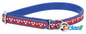 Kerbl Collar para Gatos Pvc con Cascabel Azul/Rojo