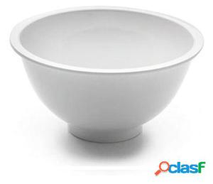Lacor Bol ensalada melamina clasica blanco D.24x12
