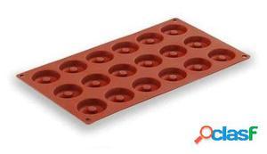 Lacor Molde Silicona Mini Savarin 18 Cavidades
