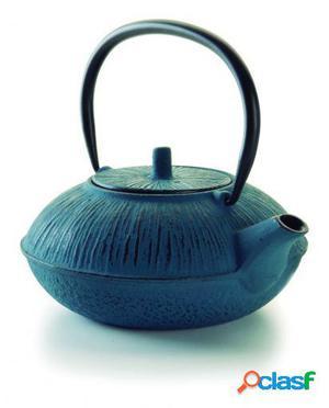 Lacor Tetera hierro fundido azul 1,1 L