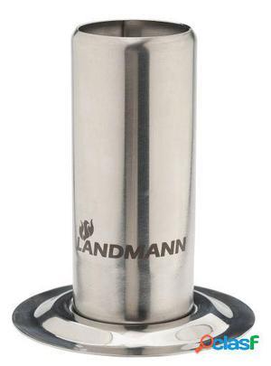 Landmann Soporte para asado de pollos en acero Inoxidable