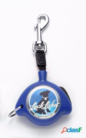 LeashLocket Correa Azul L
