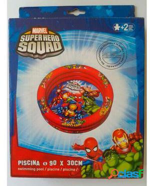 Mondo Piscina hinchable superhero squad