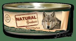 Natural Greatness Pechuga de Pollo Hígado y Verduras 156 GR