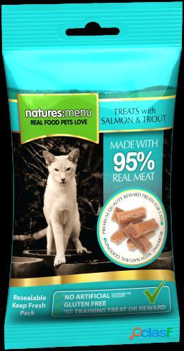 Natures Menu Cat Treats Salmón & Trucha 60 Grs 0.06 Kg