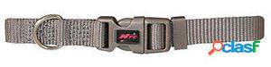 Nayeco Collar para Perros Basic Gris Talla M 100 GR