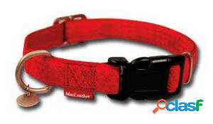 Nayeco Collar para Perros Macleather Rojo Xl 200 GR