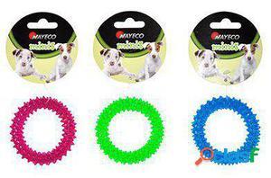 Nayeco Juguete para Perros Pequeños Aro de Goma 3x100 GR