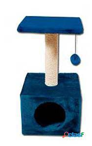 Nayeco Rascador Savanna Town para Gatos Azul 200 GR