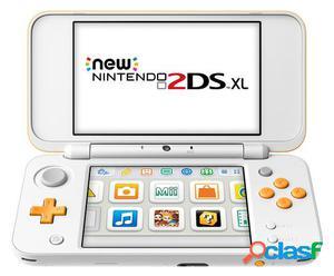 Nintendo Consola New 2DS XL Blanco/Naranja