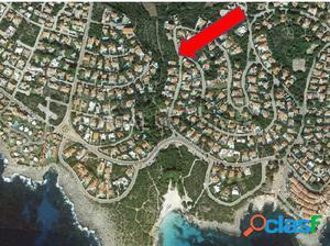 Parcela edificable con vistas en Binibeca, Menorca