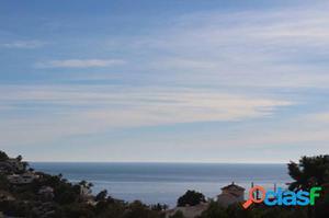 Parcela llana en venta a 250 metros del mar,con vistas al