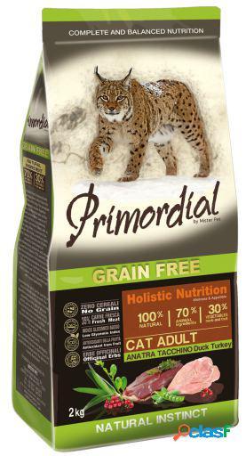Primordial Pienso para Gato Adult Pato y Pavo 2 KG