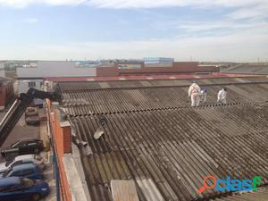 Productos peligrosos en nuestros tejados. Empresa