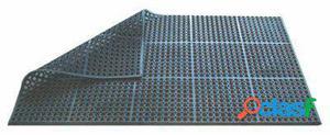 Pujadas Alfombra de 90 X 150 X 1.2 centímetros negra