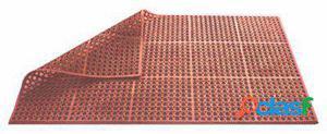 Pujadas Alfombra de 90 X 150 X 1.2 centímetros terracota
