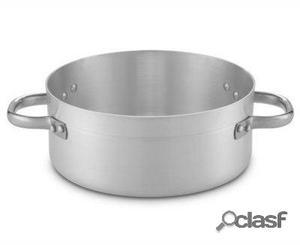 Pujadas Cacerola baja aluminio sin tapa. 38 cm