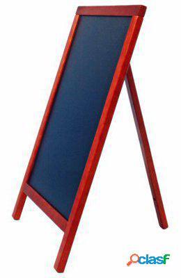 Pujadas Pizarra caballete-uno marco de madera resistente al
