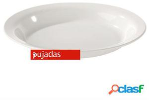 Pujadas Plato policarbonato hondo apto para lavavajillas y