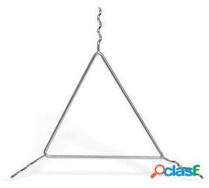 Pujadas Triángulo elaborado en acero inoxidable permite