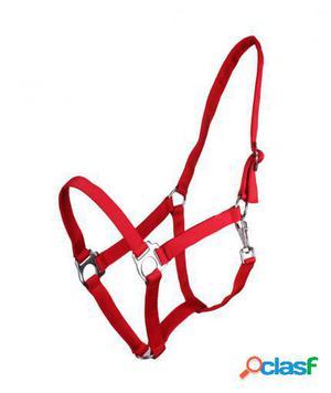 QHP Cabezada Ajustable rojo shet
