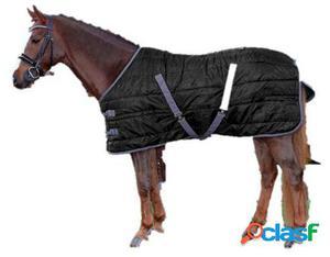 QHP Manta establo start nylon 300 gr negro 215 cm