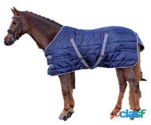 QHP Manta establo start nylon 300gr azul oscuro 145 cm